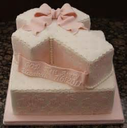 damask cross baptism cake