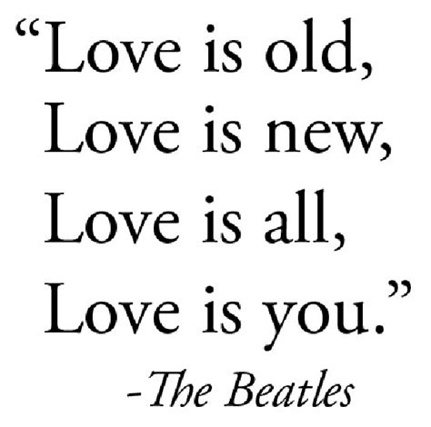 Love Quotes Beatles Lyrics