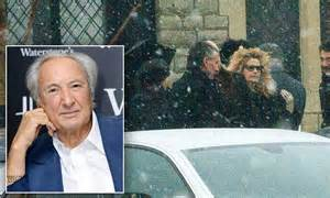 michael winner funeral director is buried as family