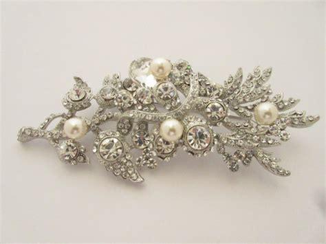 Wedding Hair With Brooch by Wedding Brooch Bridal Brooch Wedding Accessories Bridal