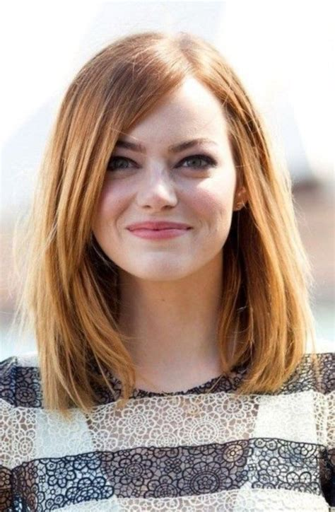 bob haircut for round face pinterest long bob hairstyles with fringe for round faces 2017 2018