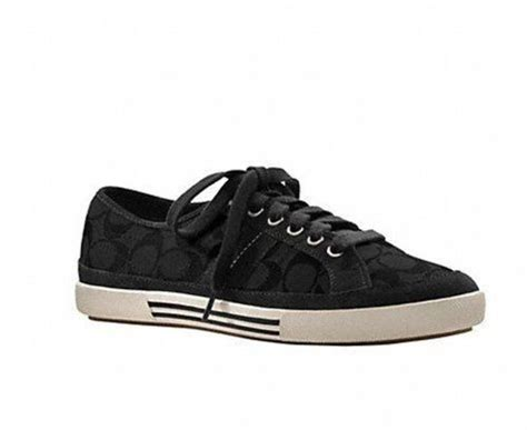 coach mens sneakers coach brad mens fashion sneakers in black 12 d m us