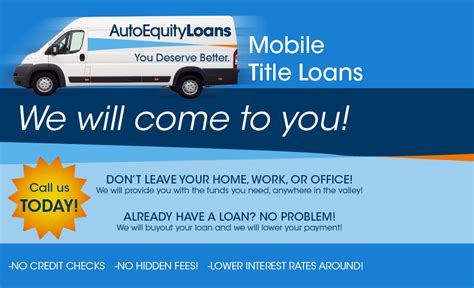 Mobile Home Title Loans 18 Arizona Car Title Loan Need Fast No Credit Check