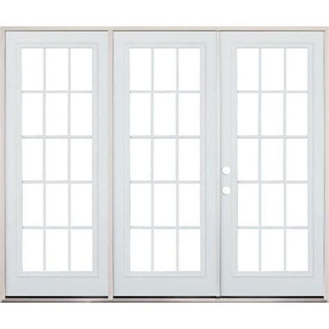 How Wide Is A Patio Door by 8 0 Quot Wide 15 Lite Steel Patio Door Unit