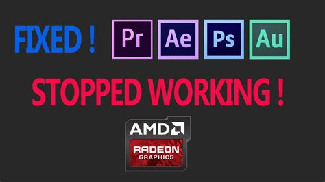 adobe premiere pro has stopped working how to fix adobe premiere pro cc has stopped working