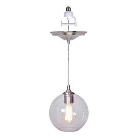 worth home products instant pendant series 1 light brushed
