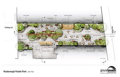 food truck park design plans for roxborough s new pocket park unveiled phillyvoice