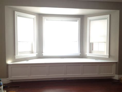 bay window seating bay window seat diy pinterest
