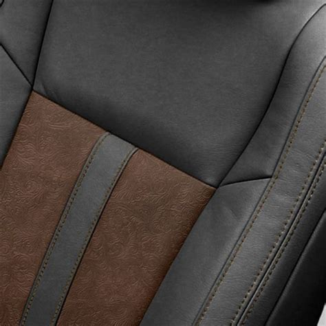 Subaru Outback Leather Interior Katzkin Design 2015 F150 Black Outlaw Brown Leather Interior