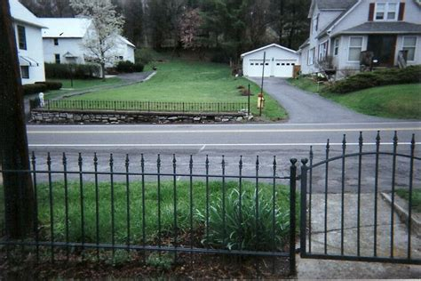 wrought iron fence in front yard fencing pinterest