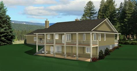 Walkout Bungalow House Plans by Bungalow House Plan 2011545 Edesignsplans Ca