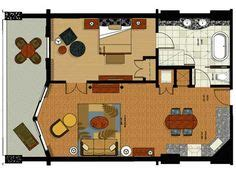 grand beach resort orlando floor plan walt disney world one bedroom and walt disney on pinterest