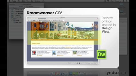 layout html dreamweaver web design tutorial what to expect with the design view