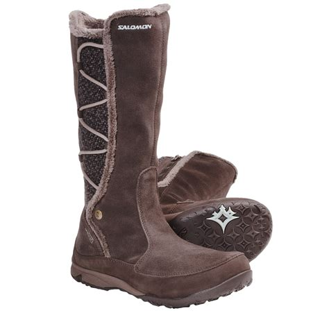salomon emmy wp winter boots for 5968r save 50