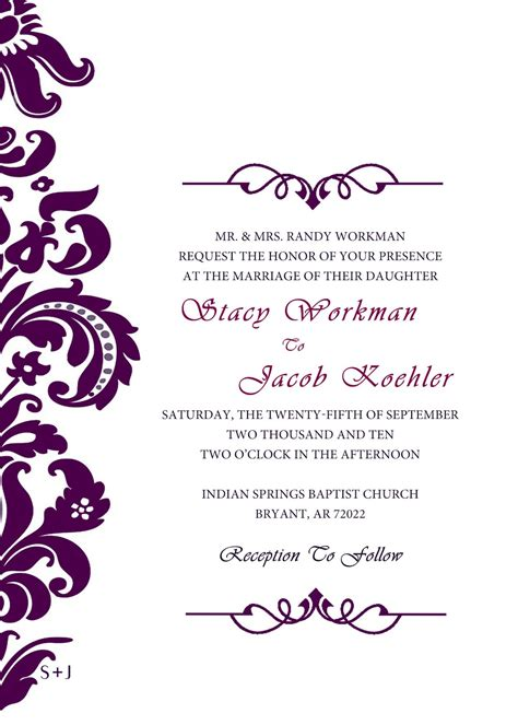 Destination Wedding Invitations Wedding Invitation Designs Invitation Design Templates