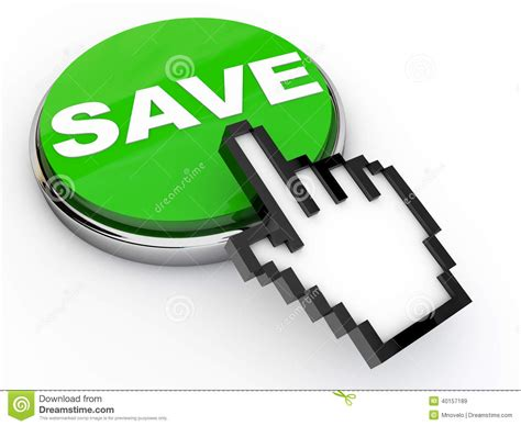 save a save button stock illustration image 40157189