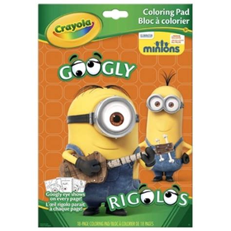 crayola giant coloring pages minions more minions love with crayola cziplee journal