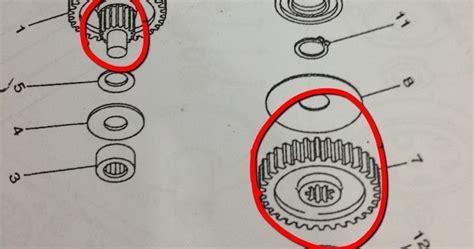 Gear Starter Nouvo Mio Yamaha Genuine Parts palex motor parts idle gear hispeed for yamaha ego nouvo