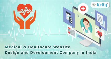 Website Design And Development Company by Medial Healthcare Website Design And Development Company