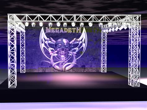 rhino stage and lighting stage and lighting rig by thepickle on deviantart