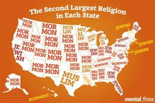 the story of protestants in the united states books the second largest religion in each state mental floss