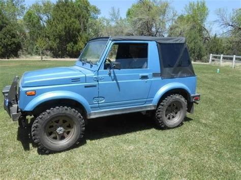 1986 Suzuki Samurai For Sale Purchase Used 1986 Suzuki Samurai In C Verde Arizona