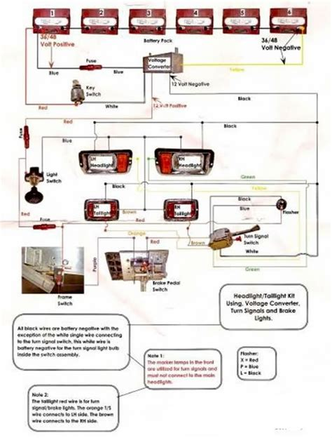ezgo light wiring diagram wiring diagrams schematics
