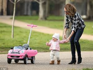 Pink Mini Cooper Baby Walker Tamara Ecclestone Takes For A Spin In