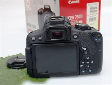 Kamera Canon Eos 750d jual kamera dslr canon eos 750d fullset bekas jual beli laptop bekas kamera bekas di malang