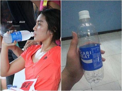Pocari Sweat Botol 900ml 15 S jkt48 kok jadi idola tang standar kemuan standar