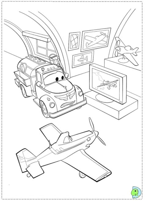 coloring pages for disney planes planes coloring page dinokids org
