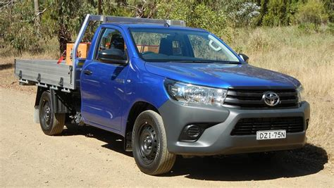 toyota hilux workmate single cab  review carsguide