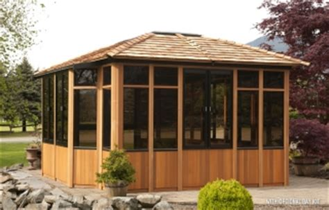 Backyard Enclosed Gazebo Enclosed Gazebos