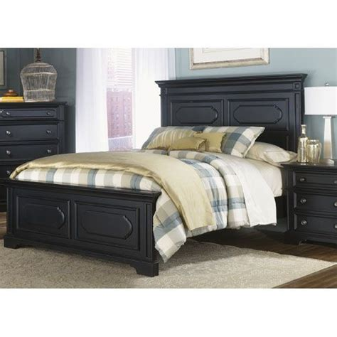 broyhill ember grove 5 piece bedroom set 4333 250 set liberty furniture carrington ii black king panel bed