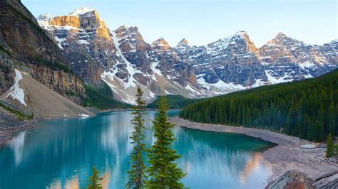 moraine lake in lake louise alberta expedia ca