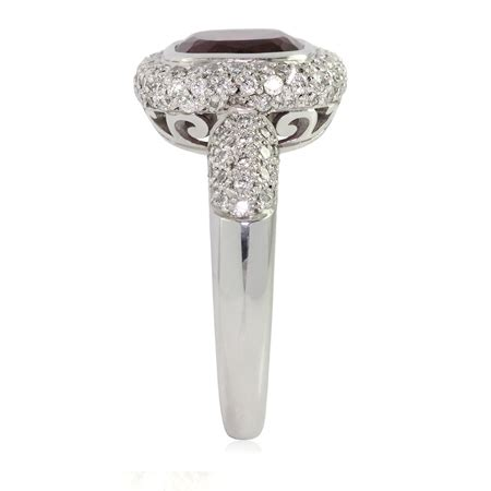 bentley pink diamonds tourmaline ring bentley de lisle
