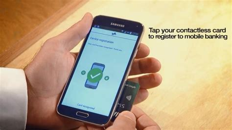 lloyds banking mobile lloyds bank trials nfc for mobile banking authentication