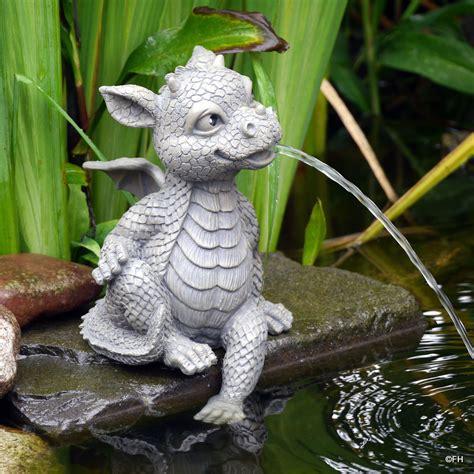 Garten Deko Drachen by Garten Deko Figur Wasserspeier Drache Drachen Kantenhocker