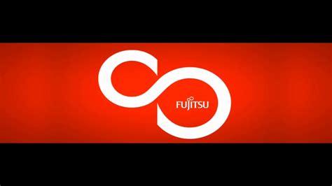 fujitsu logo fujitsu logo animasyonu