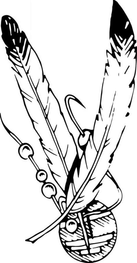 coloring pages of indian feathers best photos of eagle feather coloring page medicine