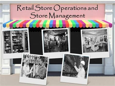 retail store operations and store management demo authorstream