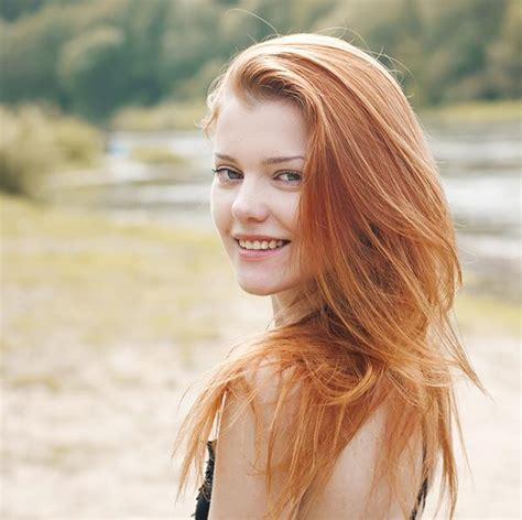 red public hair pictures female red hot facts about women with red hair more com
