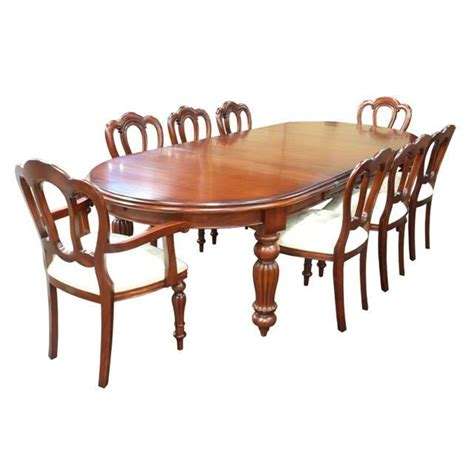 victorian dining table oval ended akd furniture