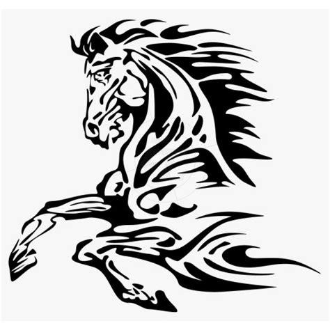 Aufkleber Flammen by Flammenaufkleber Galoppierendes Pferd