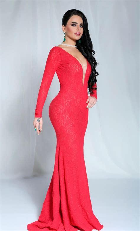 Fadya Maxy layal abboud arabian beautiful models