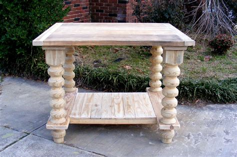 kitchen island legs unfinished kitchen island completely handcrafted solid pine unfinished