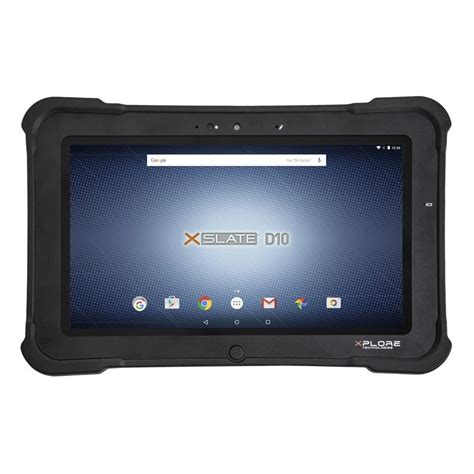 rugged android tablets xplore xslate d10 rugged android tablet pc the barcode warehouse uk