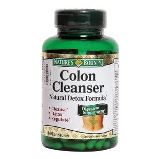 Bowel Detox Nature S by Nature S Bounty Colon Cleanser Detox Formula
