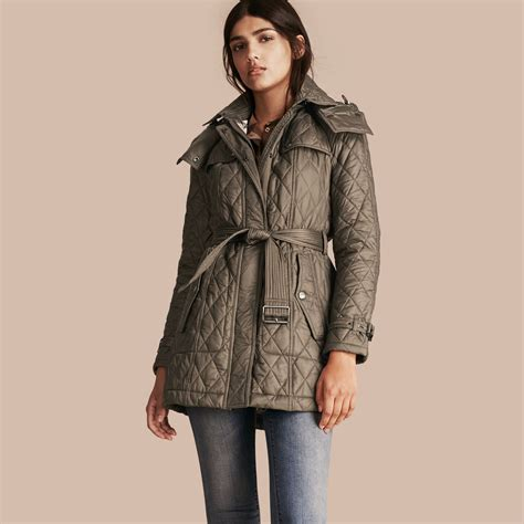quilted coat burberry
