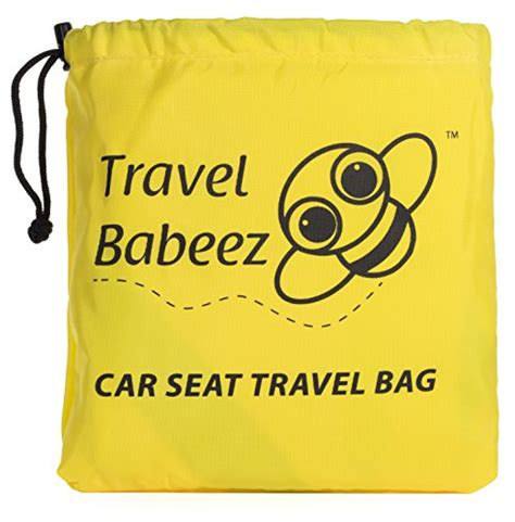 easy to carry infant car seat travel babeez durable car seat travel bag airport gate